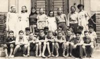 Greek children in the home in Chrastava, 1959