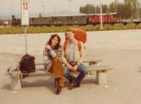 Edib with his wife Doubravka (cca 1980)