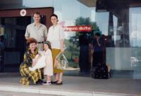 The birth of Nina Jaganjac in Sarajevo (June, 1990)