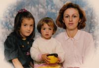 Photography of his family which got to Edib through The Red Cross during the war (1993)