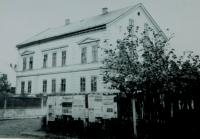 House of the Holatko family in Sumperk. It was demolished in 1968