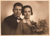 Jindřich a Marie Vavřínovi, 1929, Brno