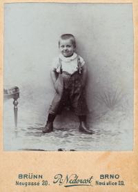 1905, Jindřich (4 roky)