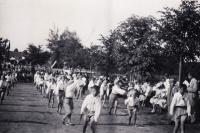 Veřejné cvičení DTJ, 1938