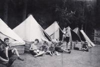 1938, tábor, Petr 3. zleva