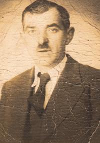 Grandfather Josef from Radovesnice near Kolín
