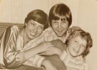 Children Zdislava, Petr and Václav