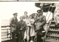 Emigration from France to England, the ship Neuralia, June-July 1940