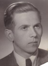 """Jaromir Bilík as an employee """"Královopolské strojírny"""""""