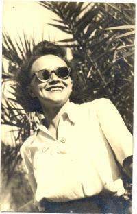 Angela Bajnokova in 1950