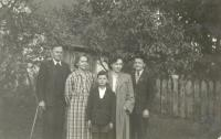 The last family portrait in 1951