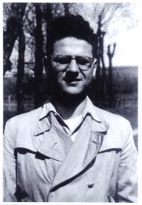 Jiří Diamant v roce 1949