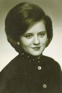 Mária ako študentka