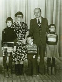 So svojou rodinou