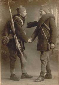 Josef and Franja in 1914