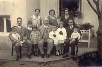 Grandfather Franja with the family in 1930