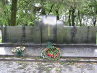 Memorial to the victims in Český Malín in 2009