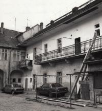 51/5000 Roček - the house where he lived in Terezín (Q708, room 127)