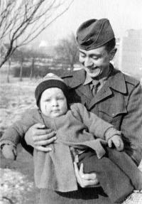 Jaroslav Plaček with his nephew Dalibor