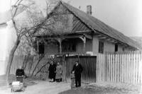 The original shape of the house where Jaroslav lives now