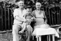 Jaroslav's father Václav and mother Božena