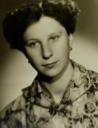 Marie Gablerová v šedesátých letech