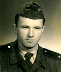 Jaroslav Bílek 1954/1955