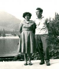 Jaroslav Bílek s manželkou