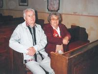 Jaroslav Bílek s manželkou, 2011