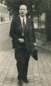 Jitka's uncle Robert Klein, 1925