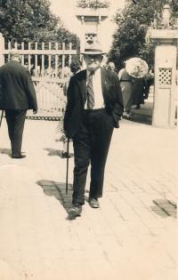 Jitka's grandfather Vilém Lustig, 1930s