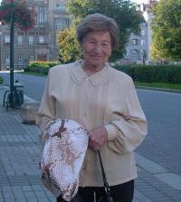Edna Beck, née Hana Lampelová, 2011