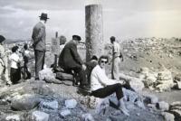 Marie Feuersteinová on a trip to Negev