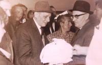 Karel Feuerstein (left).