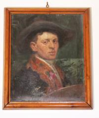 Portrait of Matti Cohens´uncle Ernst Ascher