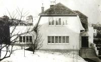 The Neumann family house in Tvarožkova (former Čelakovského) Street, Bratislava. Date unknown.