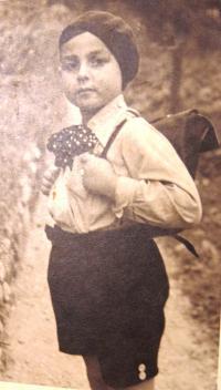 Brother Viktor Neumann, nicknamed Viki, 1937