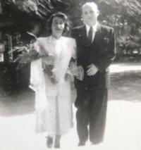 Wedding photograph 1949