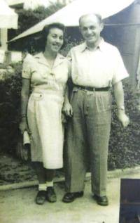 Ruth and Josef Mittelmann. Israel, 1950s