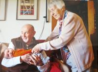 Ruth and Josef Mittelmann with their youngest great-grandson
