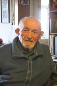 Josef Mittelmann, Ruth's husband.  Jerusalem, March 2017
