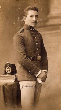 Father Julius Schwarzbart, 1919