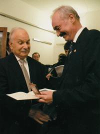 With czech senator Přemysl Sobotka