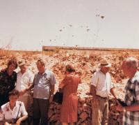 Righteous among the nations Park, Jerusalem 1975, in the middle Zora Piculin