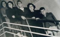 In Isrrael with friends and Shelly Rabinovic, 50ies