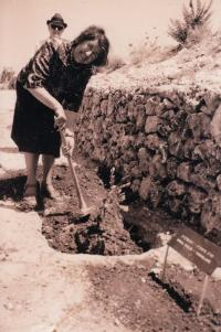 Righteous among the nations Park, Jerusalem 1975, Zora Piculin