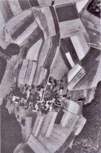 Aerial photo of Prosička