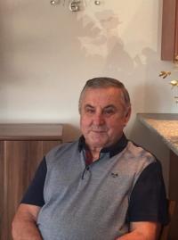 Alexandr Stejskal in his home in Broumov