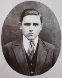 Vladimír Stejskal in 1938, father of Alexandr Stejskal