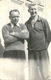 Boxing coach František Leitgeb